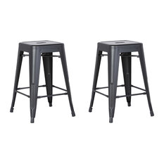 50 Most Popular Gray Backless Counter Height Stools For