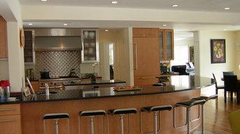 Contemporary and Unique Kitchen
