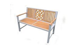 Laguna Park Bench, Synthetic Wood Slats