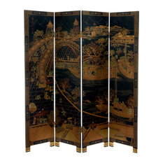 6' Tall Ching Ming Festival Screen