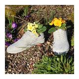 Pair of Grey Stone Shoe Planters