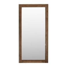 Teak Wall Mirror, 100x200 cm