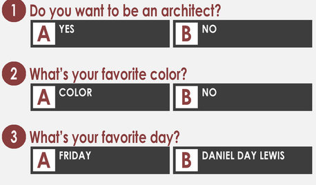 A Quiz for Architects in Question