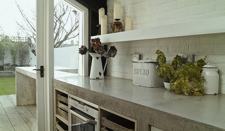 Advantages of Concrete as a Kitchen Countertop Material