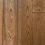 """Hurst Hardwoods - White Oak Prefinished Solid Wood Floor, Sands Peak, 1 BOX - This listing is for 1 box (20.93 square feet) of of our popular White Oak Sands Peak Prefinished Solid Wood Floor. This solid wood floor comes with FREE STANDARD SHIPPING to anywhere in the continental USA! Smoke River displays mid-brown color tones and brushed textures that are perfect for a wide range of popular interior decor styles. Available in 3 1/2"""" wide x 3/4"""" thick planks constructed in random 12"""" to 48"""" lengths and with micro beveled edges/ends, this durable hardwood floor is a great option for homes of all activity levels. This White Oak hardwood floor is finished with a matte Aluminum Oxide, making it highly scratch resistant as well. With a 4-sided tongue & groove milling profile, installation easy is easy via nail/staple down. A great option for homes with radiant heating systems, too! Please note that these planks are 3 1/2"""" in width, not 3 1/4""""."""