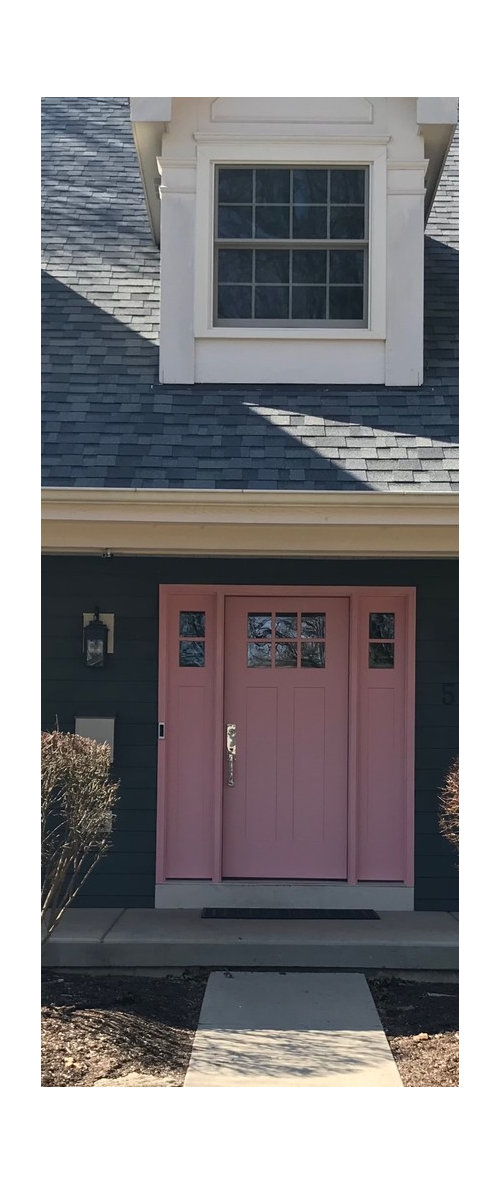 Do I Paint The Trim Around The Front Door The Same Color As