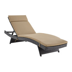 Biscayne Chaise Lounge, Mocha