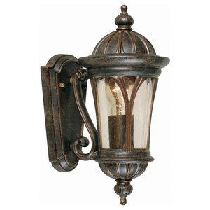 Small Exterior Wall Lantern, Bronze