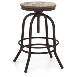 Industrial Bar Stools And Counter Stools by Zuo Modern Contemporary