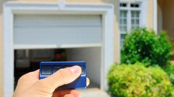 Garage Door Remote Control System Installation