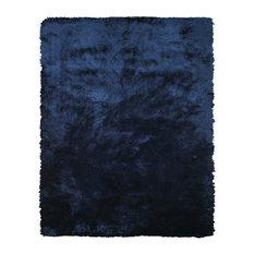 """Weave & Wander Freya Rug, Dark Blue, 7'6""""x9'6"""""""
