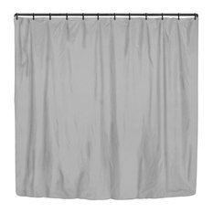 Gray Solid Color Shower Curtains Houzz