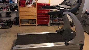 Treadmill moving