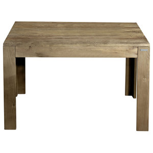 Eucalipto Extendable Aged Elm Dining Table, Large