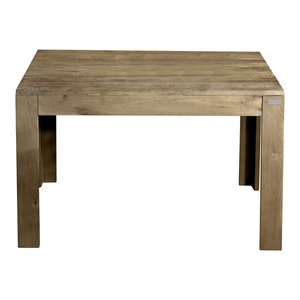 Eucalipto Extendable Aged Elm Dining Table, Small