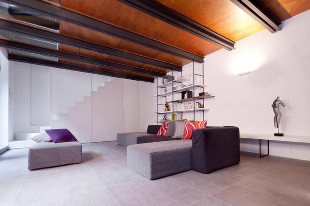 Contemporaneo Soggiorno by Paola Maré Interior designer