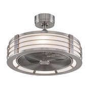 Brushed Nickel Beckwith Fan