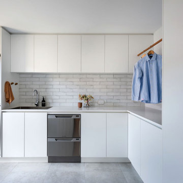 New Laundry and Scullery