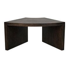 SEGMENT Coffee Table Ebony Black Walnut