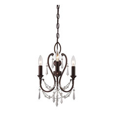 "Minka Lavery 3138-284 Mini Chandeliers 3 Light 1 Tier 11.5"" W Mini Chandelier"