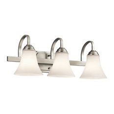 Bath 3-Light, Brushed Nickel, Standard