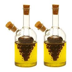 """Little Oil & Vinegar 5"""" Cruets, Set of 2"""