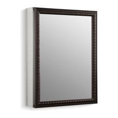 Kohler   Kohler Aluminum Cabinet Oil Rubbed Bronze Framed Mirror Door   Medicine  Cabinets