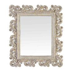 EMDE Silver Baroque Mirror
