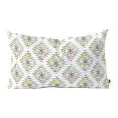 """Dash and Ash Traveling Heart Oblong Throw Pillow, 23""""x14"""""""