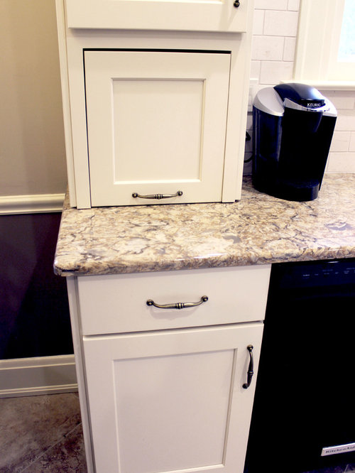 Century Home White Kitchen Remodel ~ Akron, OH - Food Containers And Storage