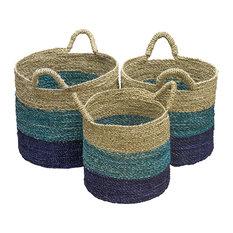 Sydney Handwoven Storage Baskets, Set of 3