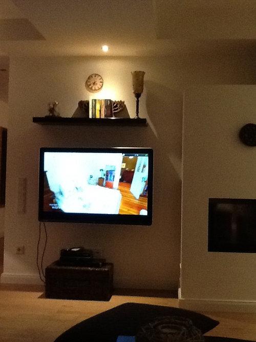 Unsere TV Wand Gestalten