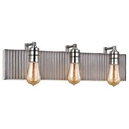 Industrial Bathroom Vanity Lighting by Lighting New York