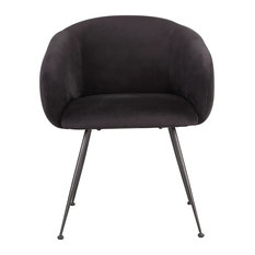 CLOVER DINING CHAIR BLACK