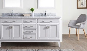 Up to 75% Off Vanities With Free Shipping