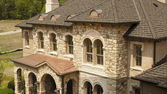 Grand Manor showpiece roof