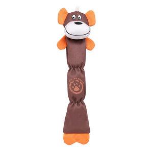 Extra Long Dura-Chew R Plush Chew Tugging Dog Toy, Brown