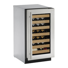 "U-Line 18"" 2000 Series Built-In Wine Cooler with 31 Bottle Capacity"