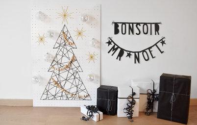DIY : Un sapin de Noël en 2D idéal pour les petits espaces