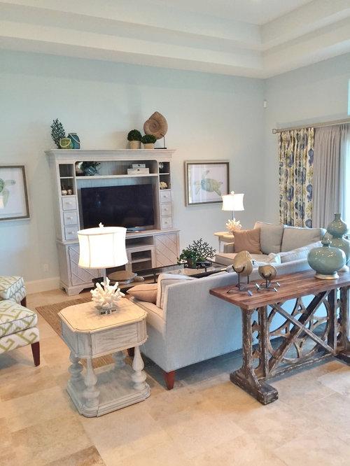 photos et id es d co de pi ces vivre avec un sol en. Black Bedroom Furniture Sets. Home Design Ideas