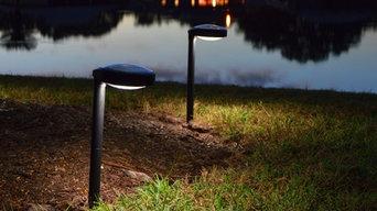 Disc2 solar garden lights (PAIR)