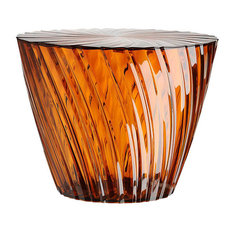 Sparkle Table by Kartell, Amber