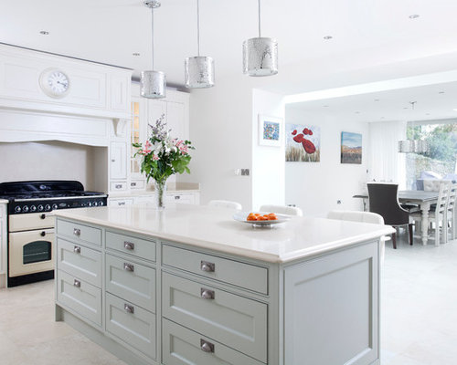 Jonathan Williams Handpainted Solid Inframe Kitchen from our Claridge Collection - Pendant Lighting