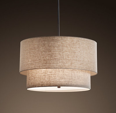 Nice Contemporary Pendant Lighting by Restoration Hardware