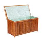 Acacia Wood Deck Storage Box