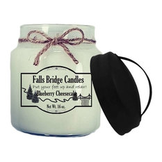 Blueberry Cheesecake Scented Jar Candle, 16-Ounce, Handle Lid
