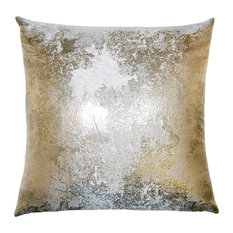 Beau Square Feathers, Rhome Living LLC   Brillante Pillow, Antiqued Pillow   Decorative  Pillows