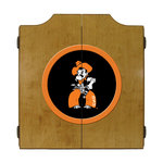 Michigan State University Spartans Dart Board Cabinet - Contemporary - Darts And Dartboards - by ...