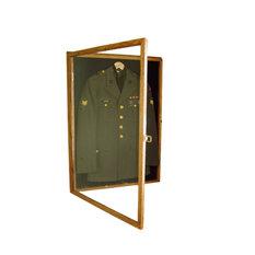 Military Uniform Display Case Memorial