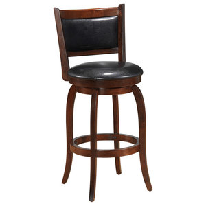 Sensational Ambella Home Collection Delaware Swivel Bar Stool Armless Inzonedesignstudio Interior Chair Design Inzonedesignstudiocom